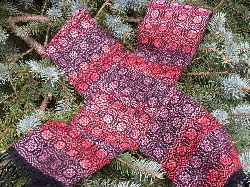 Chariot Wheel Scarf